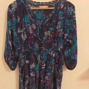 Rebecca Taylor Dress - floral print 100% silk
